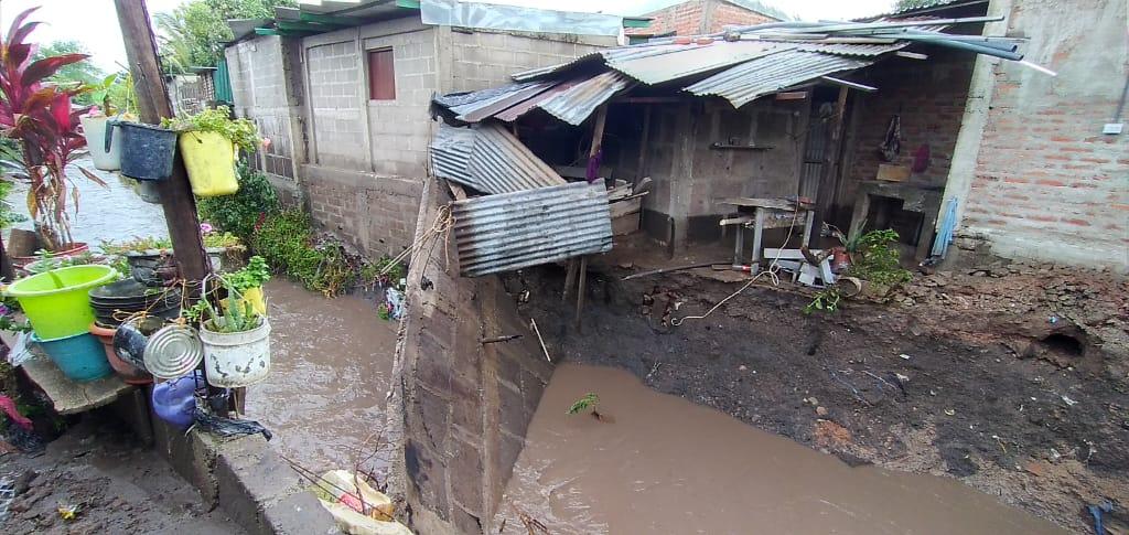 Lluvias en Estelí han dejado afectaciones en viviendas de diversos barrios, familias solicitan ayuda.
