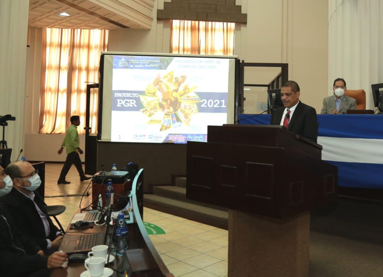 Presentan proyecto de Ley del Presupuesto General de la República para 2021
