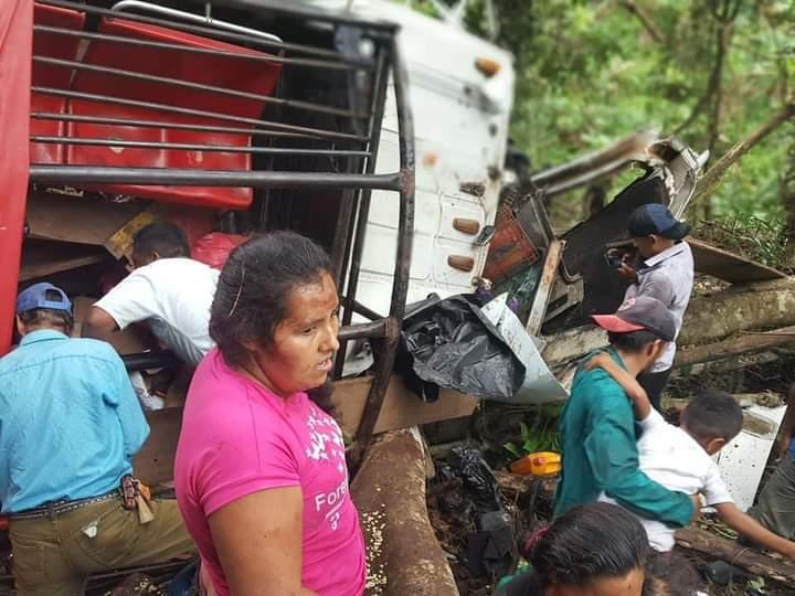 16 muertos en trágico accidente de tránsito en Waslala.