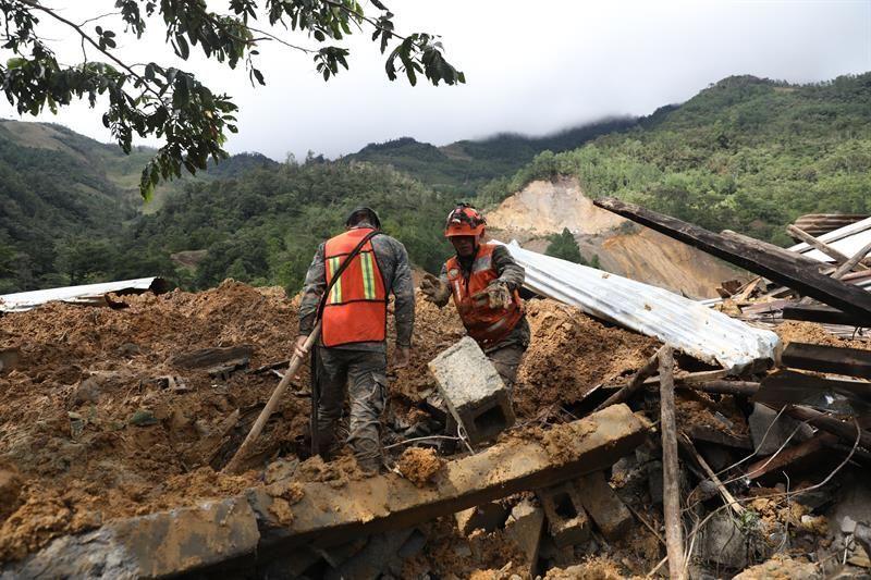 Guatemala registra seis personas fallecidas y 329.997 afectadas a causa de Iota