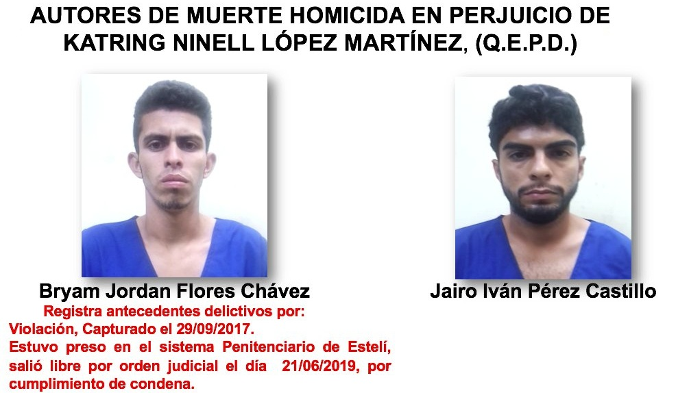 Presentan a los autores del crimen ocurrido en Jalapa.