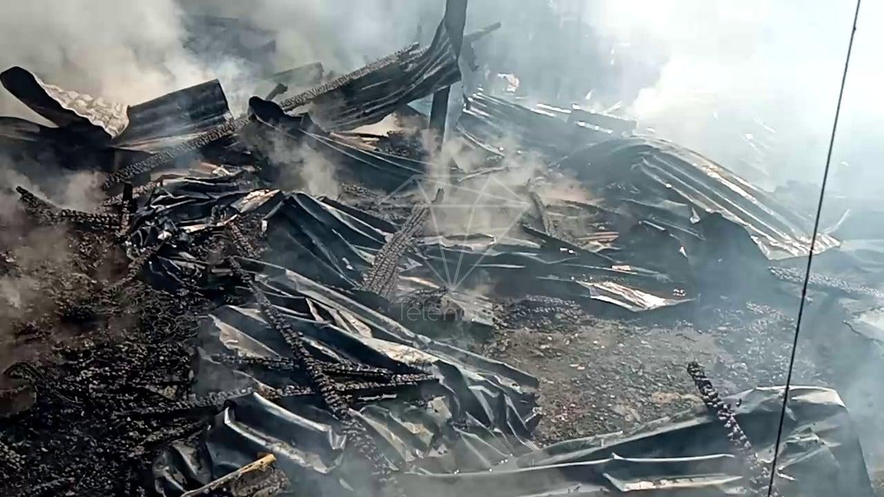 Voraz incendio afectó a viviendas en Estelí
