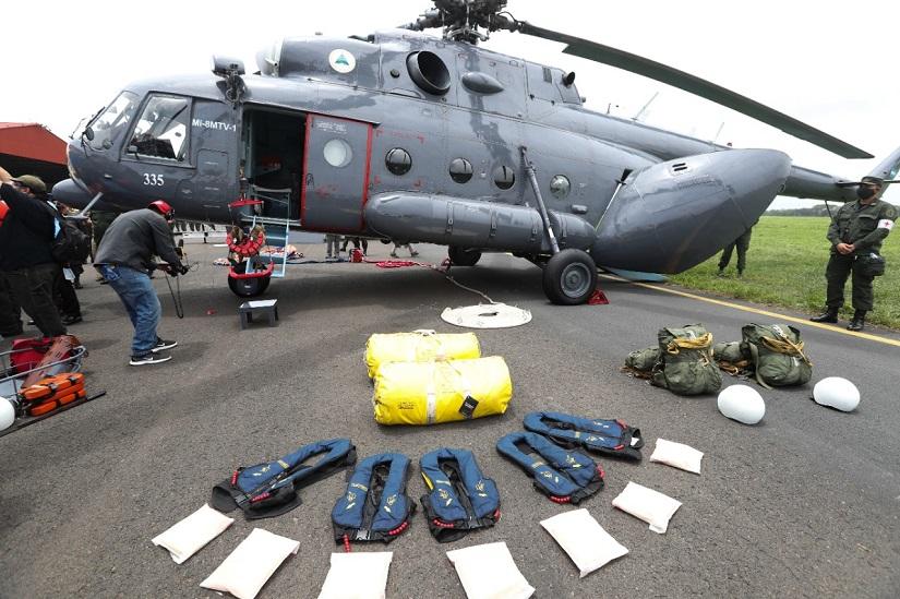 El Ejército de Nicaragua recibe medios y equipos de Rusia