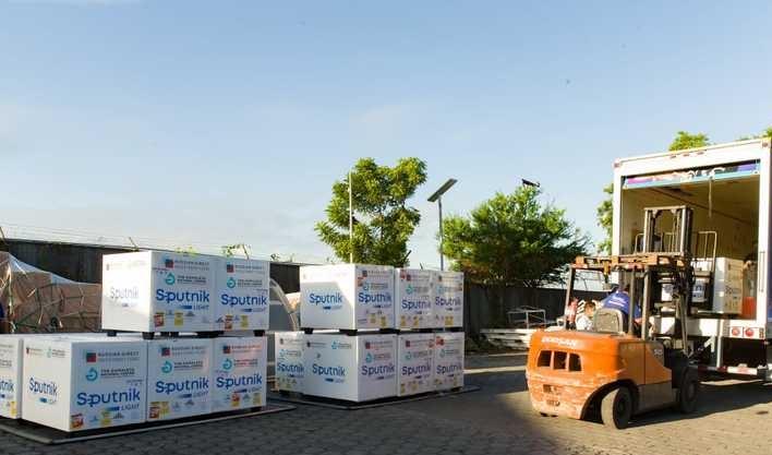 Nicaragua recibe un nuevo cargamento de Sputnik Light