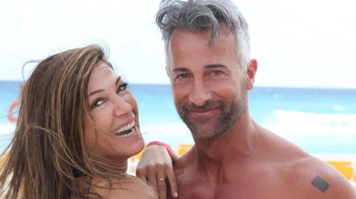 Catherine Fulop col marito Osvaldo Sabatini