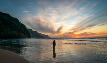 Napali Sunset, Kauai