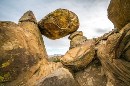 Balancing Rock - Big Bend National Park - Texas