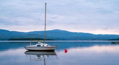 Solo Boat Bantry Bay, Ireland