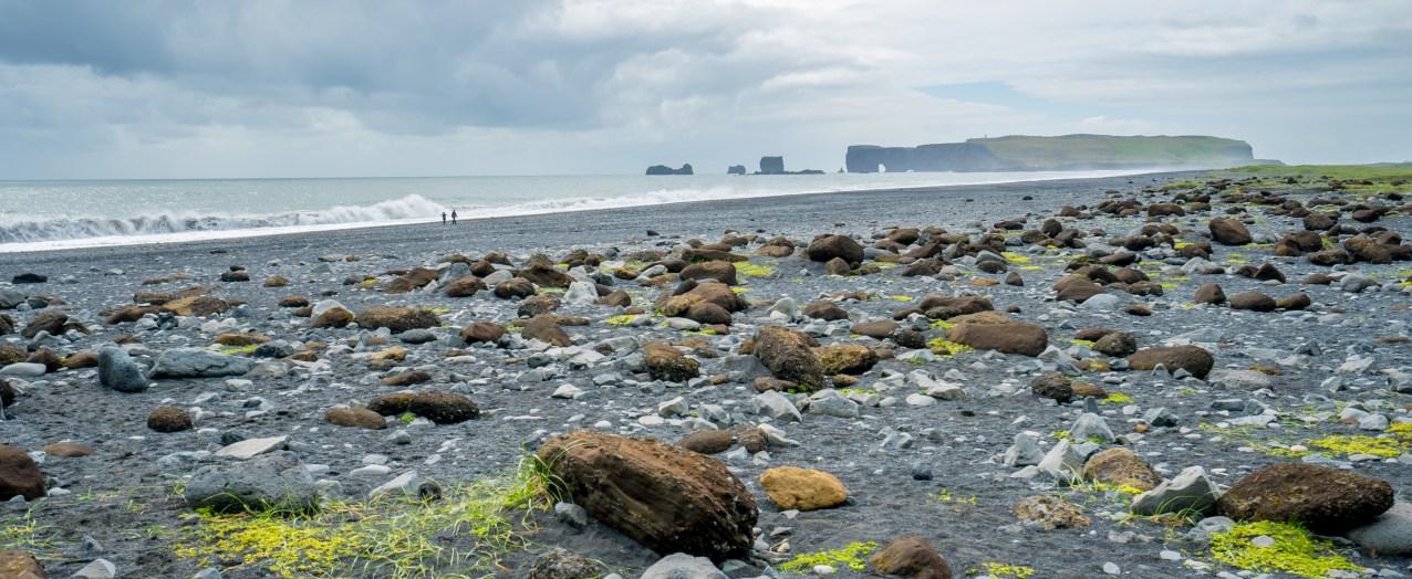 Reynisfjara Beach Walkers, Iceland