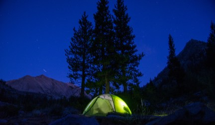 Dave and Carol's Tent - JMT