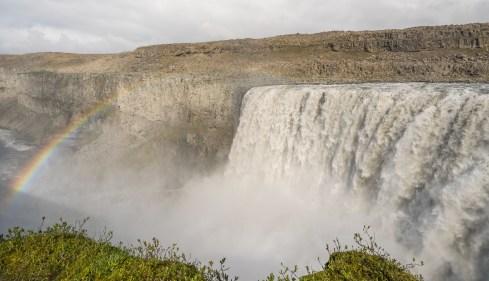 Detifoss Rainbow2, Iceland