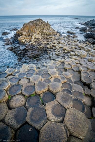 Giants Causeway Columns Detail - Ireland