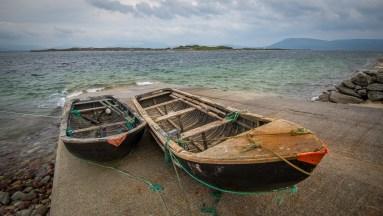 Ferry Boats to Inishbiggle, Ireland
