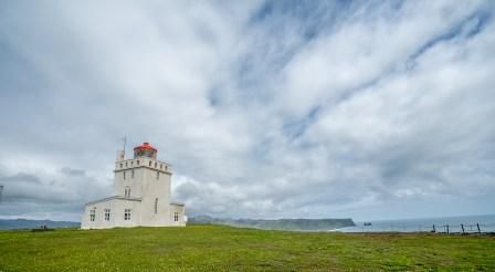 Lighthouse at Dyrholaey, Iceland