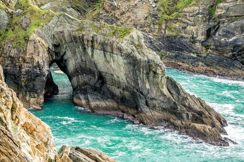Sea Arch at Mizen Head - Ireland