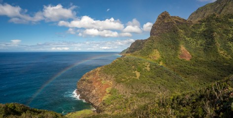 Rainbow - Kalalau Beach Trail, Kauai