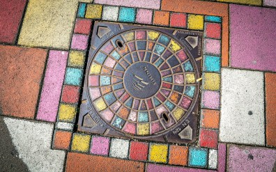 Reykjavik Manhole Cover