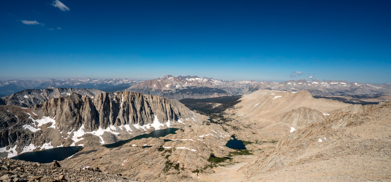 View from Whitney Summit