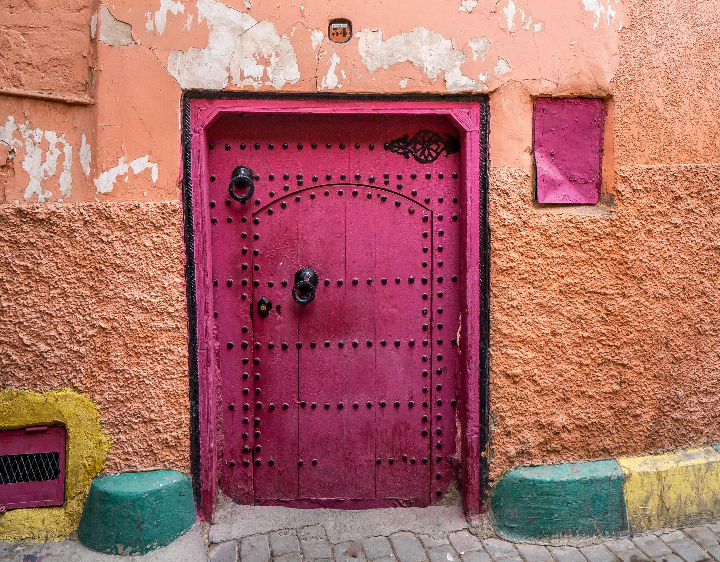 Magenta Door