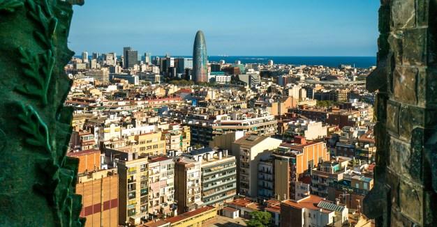 Barcelon Cityscape View