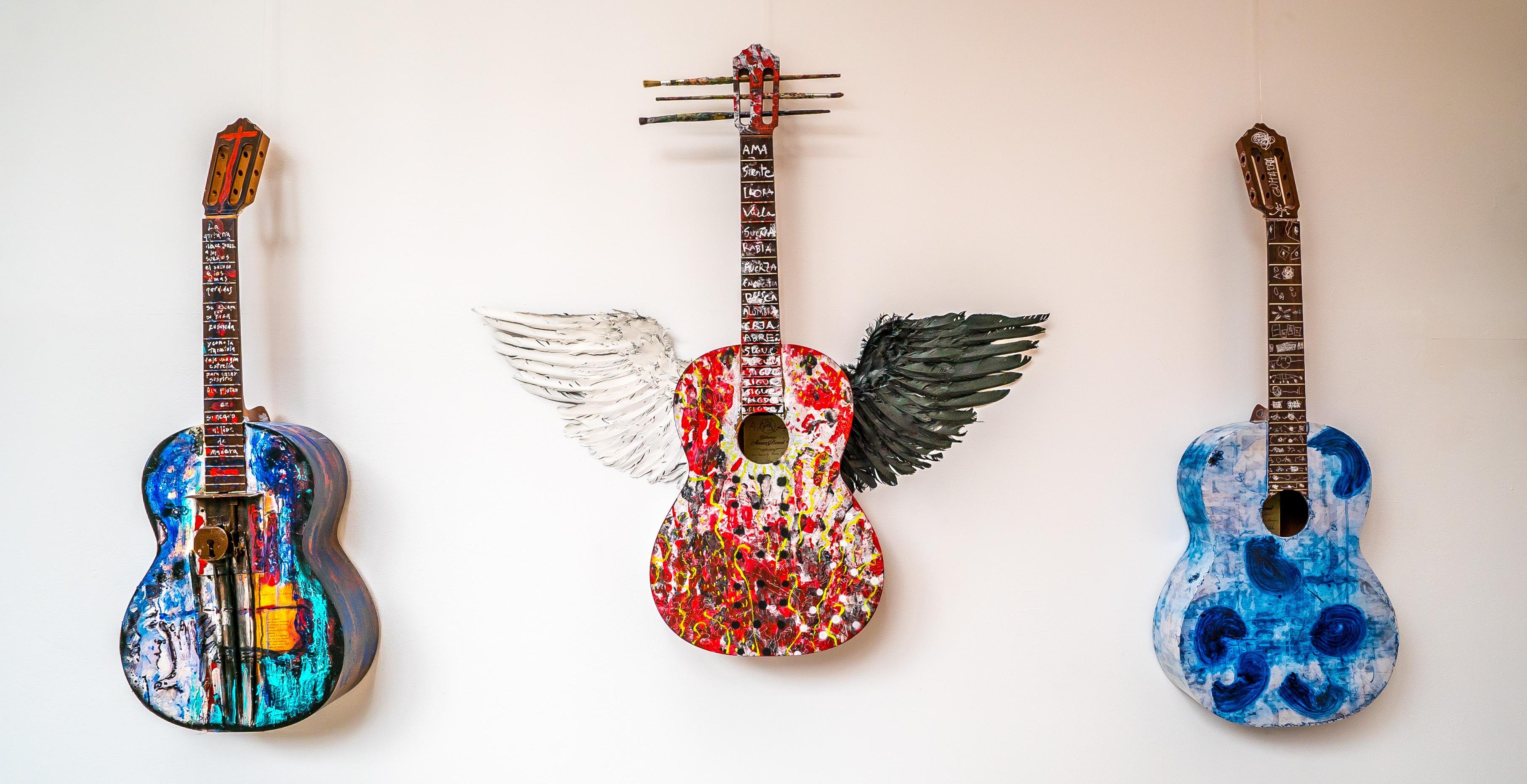 Guitars at Flamenco Museum