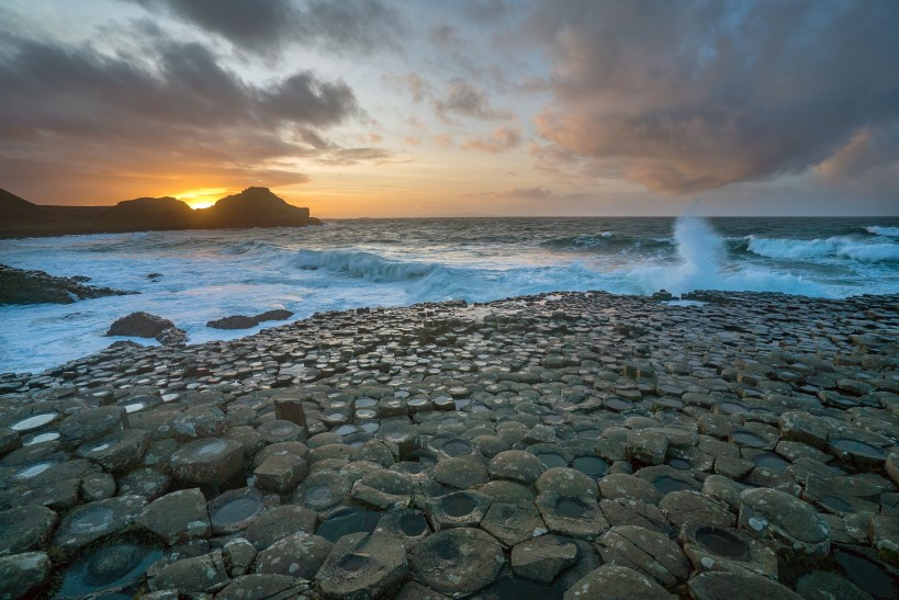 Giants Causeway sunset6