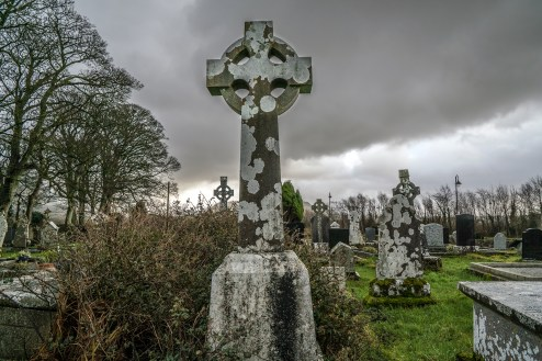 High Cross at Yeats Grave