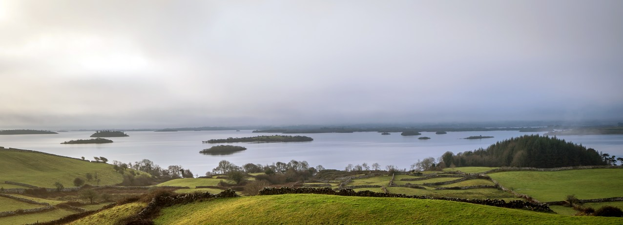 Lough Corrib fog