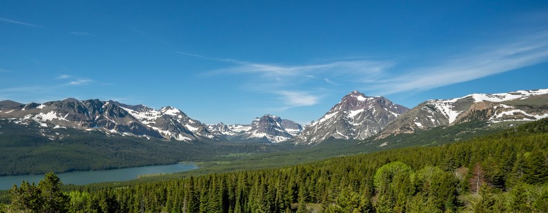 Glacier National park - Northest View