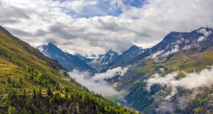 Above Zinal Looking toward Matterhorn