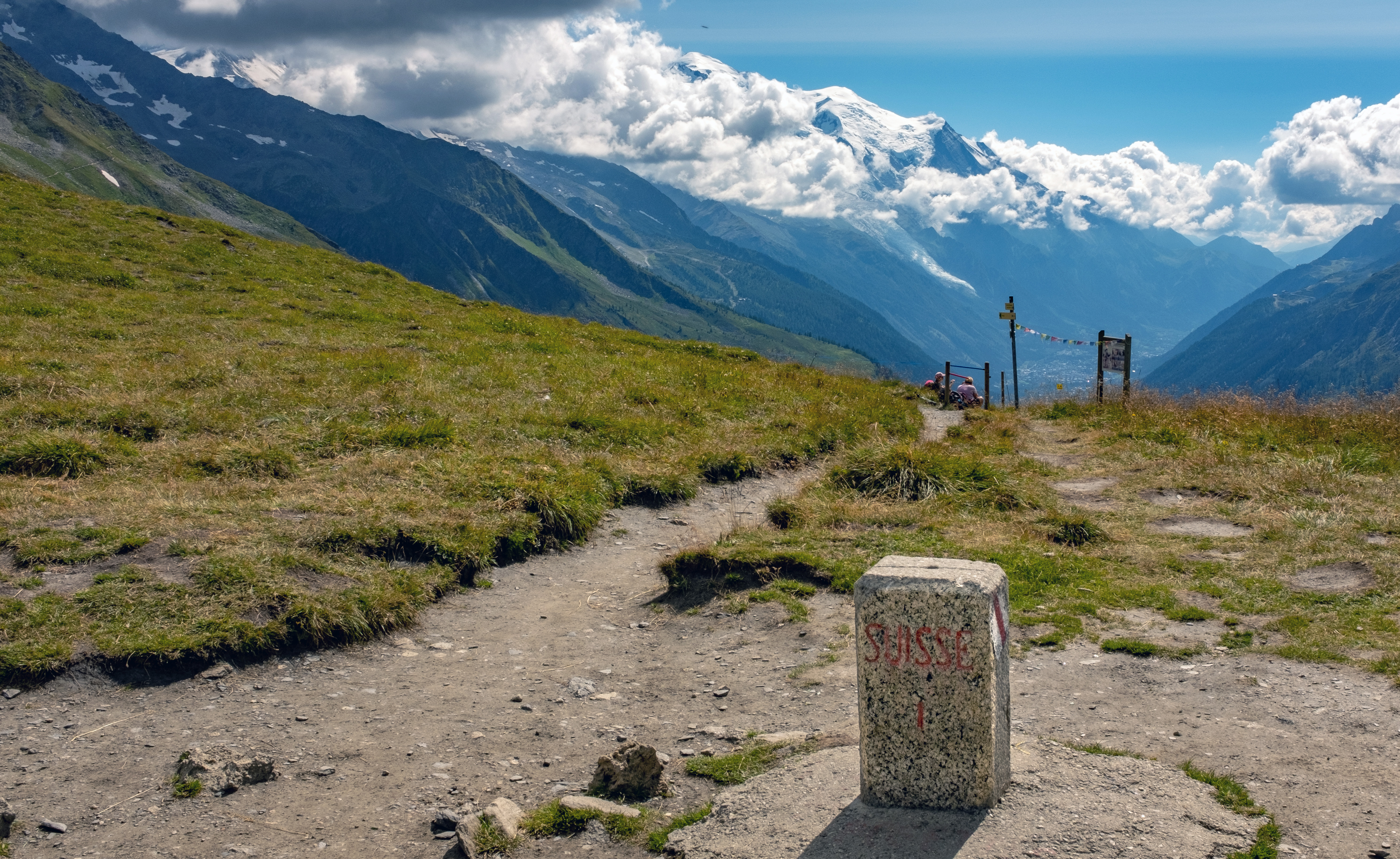 Col de Balme - Swiss Side