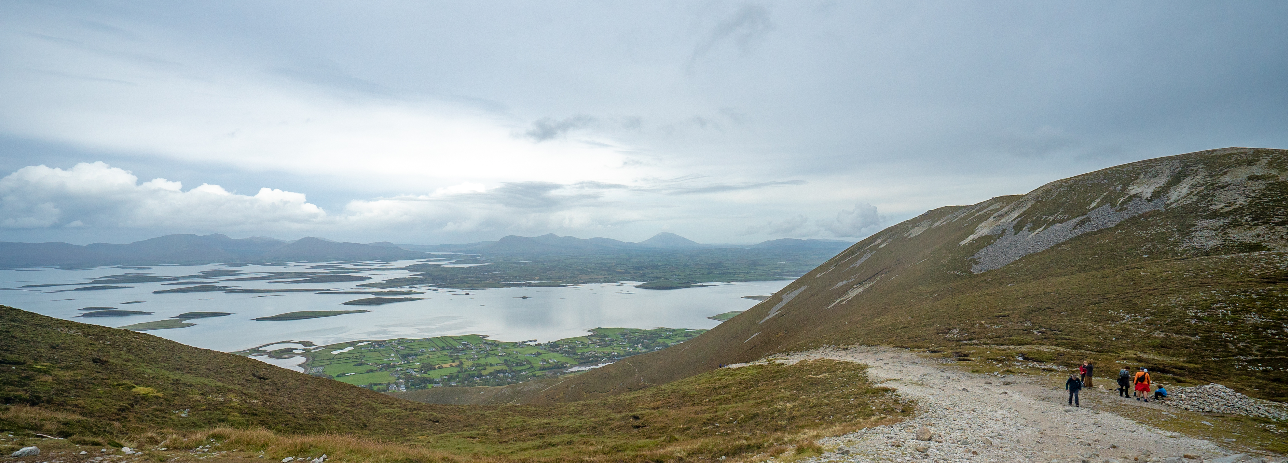 Crough Patrick Looking Toward Clew Bay
