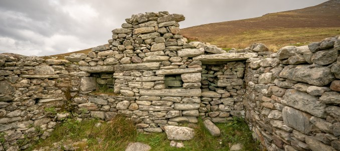 Deserted Village Interior Wall