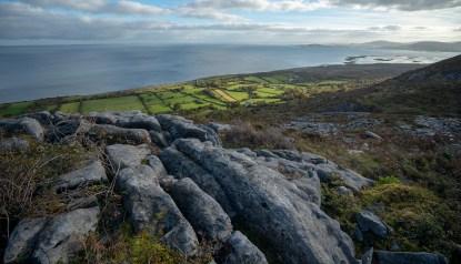 Gleninagh Valley - The Burren