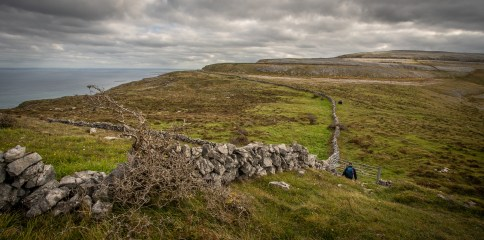 Hiking in the Burren_