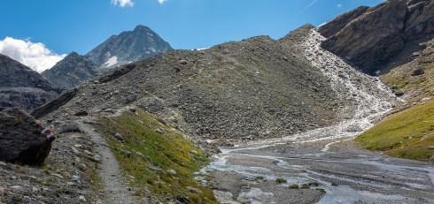 Path to Col de Riedmatten