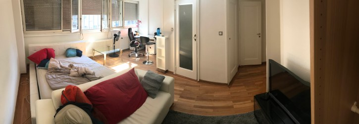 My apartment in central Geneva