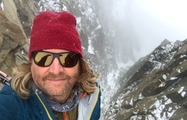 Keven at Mont Blanc