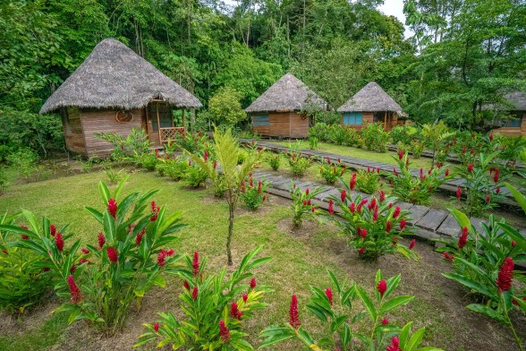 Huts at Sani WS