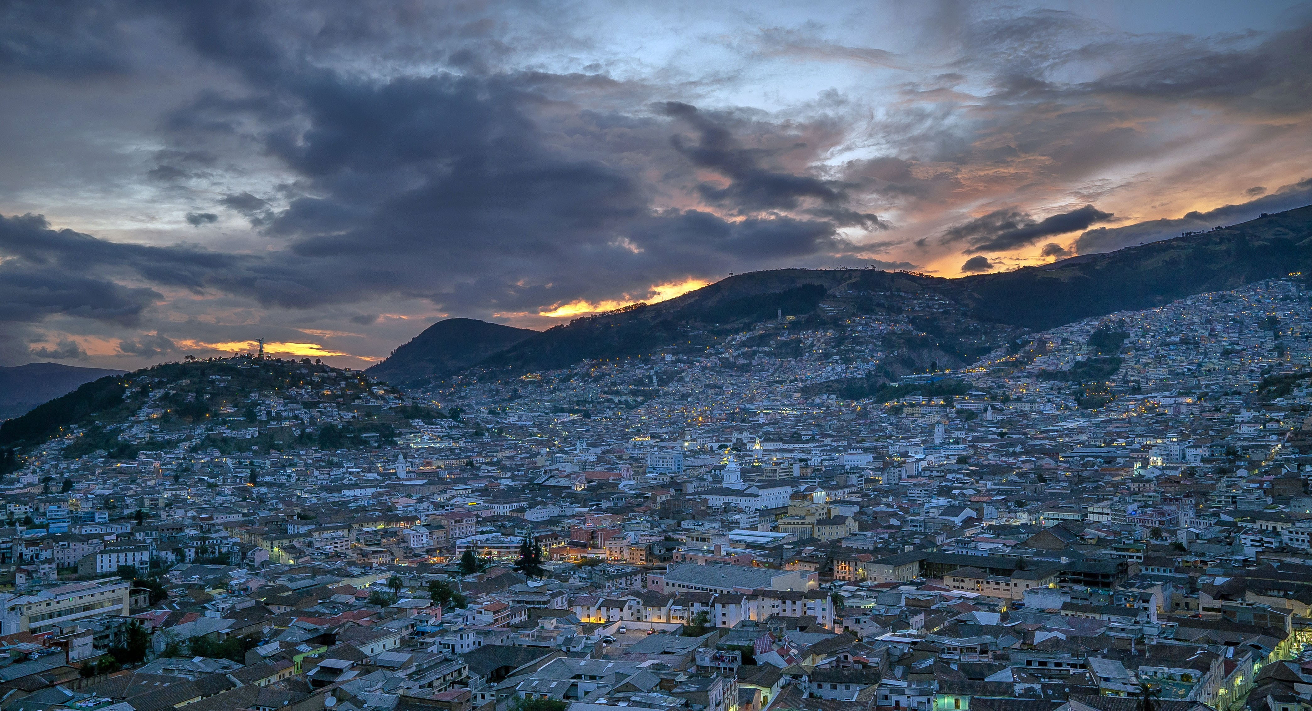 Quito-Sunset