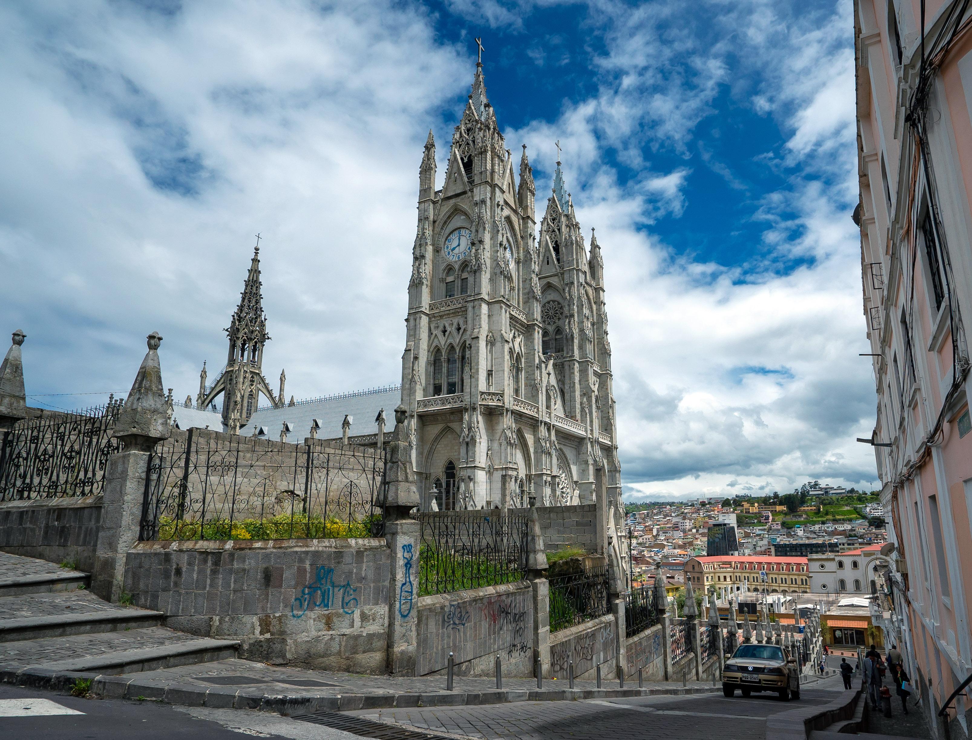 Basillica in Quito