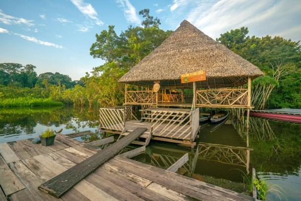 Sani Lodge WS Dock