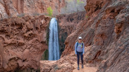 Ashley at Mooney Falls 2