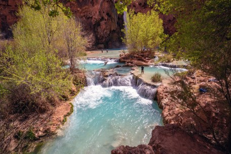 Havasupai Falls Pools