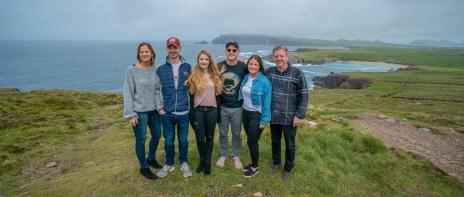 Pat Siegert Family on Dingle Pen