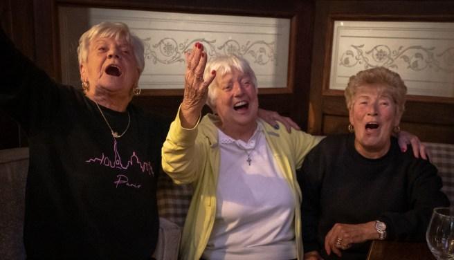 Three Sisters Singing