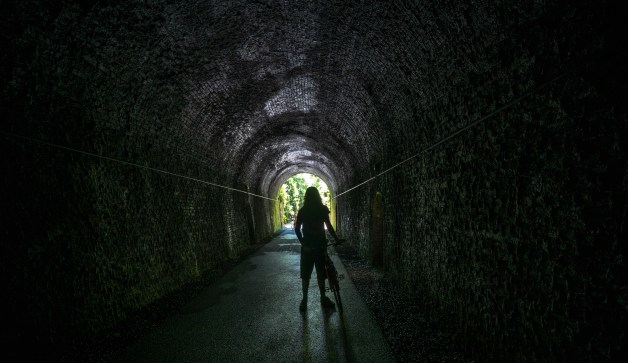 Waterford Greenway Tunnel Interior
