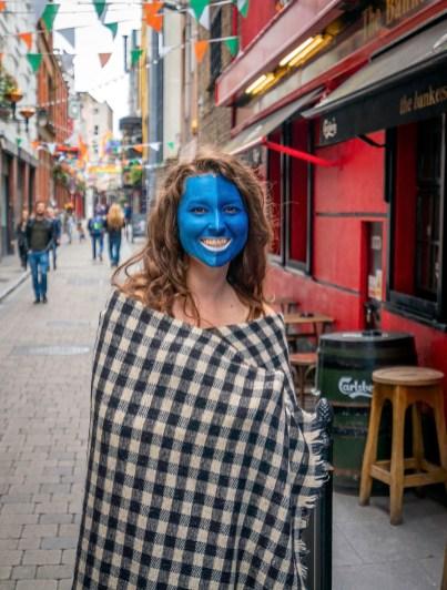 Smiling Girl in Dublin