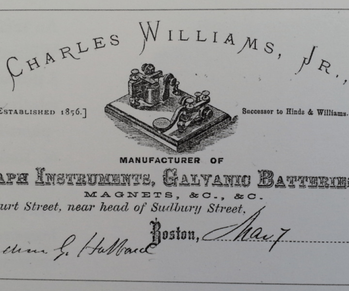 Charles Williams Jr Letterhead