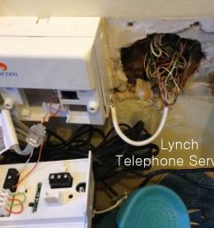 lynch telephone services image gallery work we have completed on wiring diagram eircom phone socket [ 1024 x 768 Pixel ]